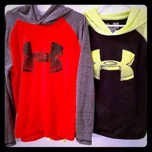 Boys Under Armour Hooded Shirt